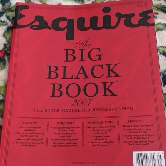 Esquire Grooming Esquire Magazine Big Black Book 207 Christmas Poshmark